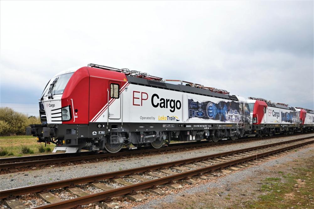 Nový Vectron v portfóliu EP Cargo Invest