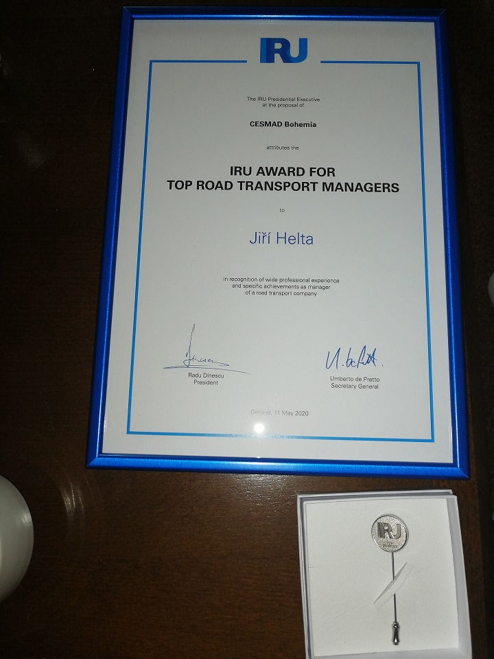 Nagroda dla Jirki Helty