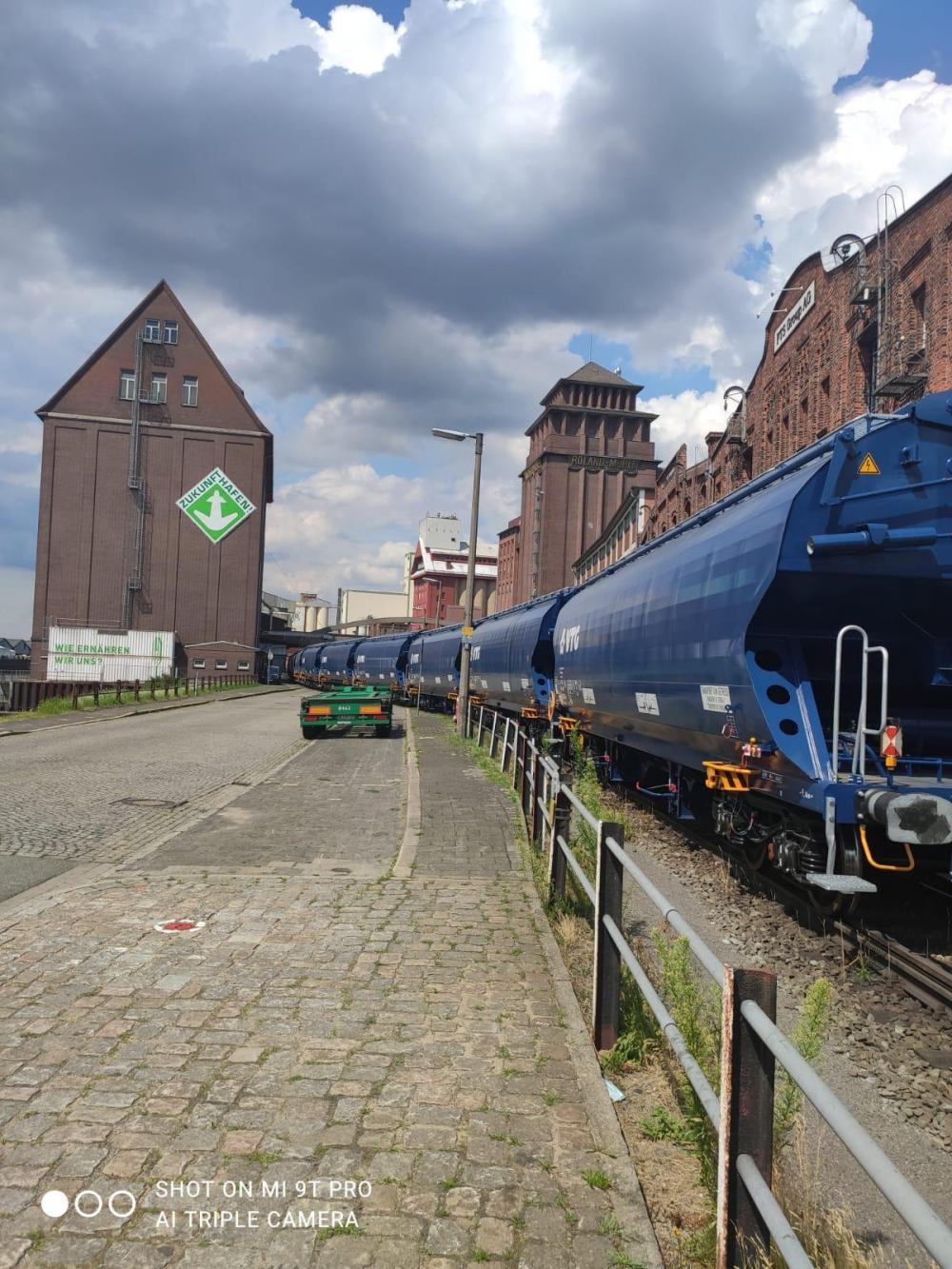 EP Logistics przewiozło zboże z Rumunii do Niemiec koleją