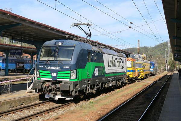 Die Zukunft auf der Eisenbahn