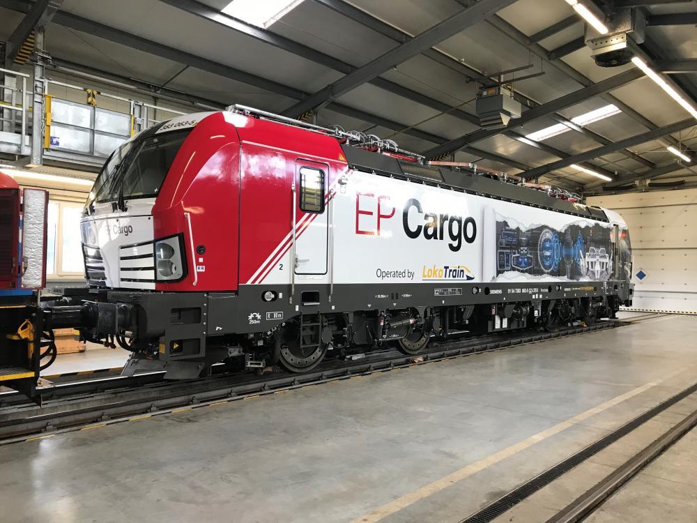 Další Vectron MS pro EP Cargo Invest